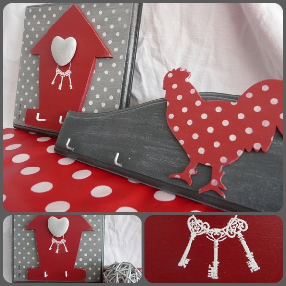 montage nichoir rouge